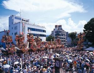 日田温泉旅館組合|日田祇園祭
